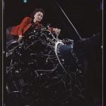 Woman at work on motor, Douglas Aircraft Company, Long Beach, Calif.