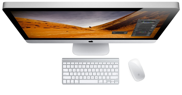 Apple's new iMac races in 70 percent faster with graphics delivered up to three times the performance